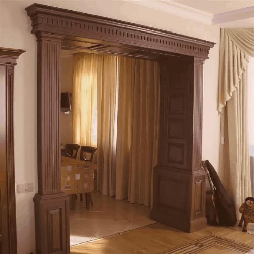 Арки и порталы по индивидуальным размерам в Санкт-Петербурге | Fog Wood