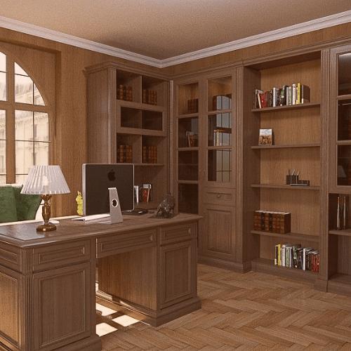 Мебель для кабинета по индивидуальным размерам в Санкт-Петербурге | Fog Wood