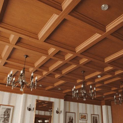 Потолочные плиты на заказ в Санкт-Петербурге | Fog Wood