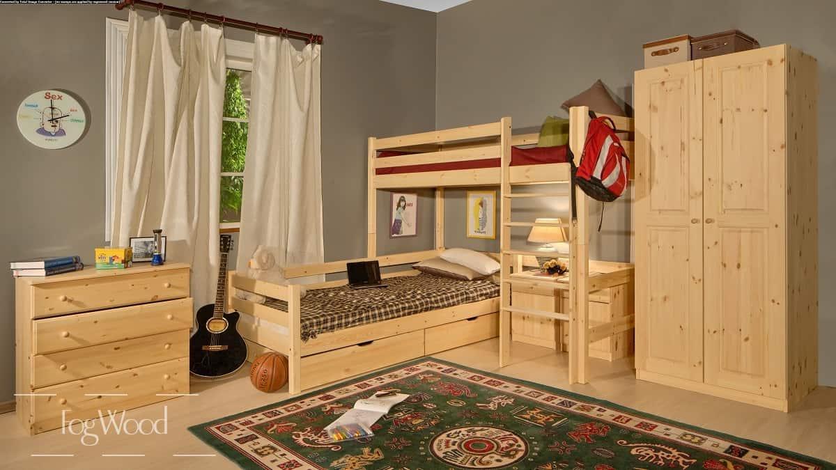 Детская мебель из массива дерева «Модель 5» по индивидуальным размерам