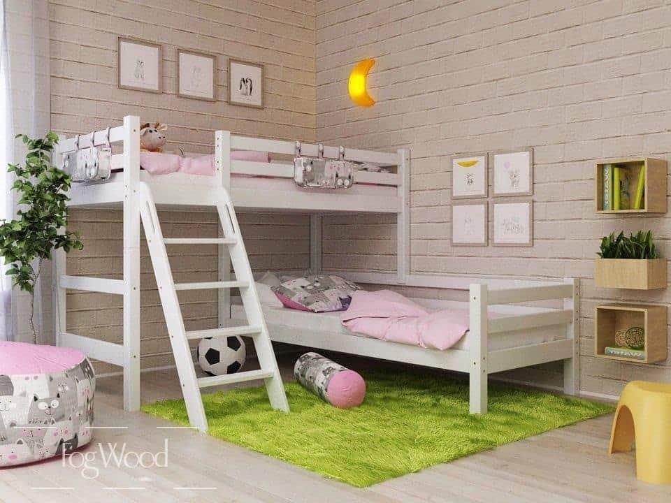 Кровать из массива дерева «Модель 10» по индивидуальным размерам