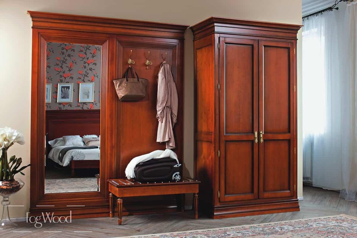 Шкаф из массива дерева «Модель 6» по индивидуальным размерам