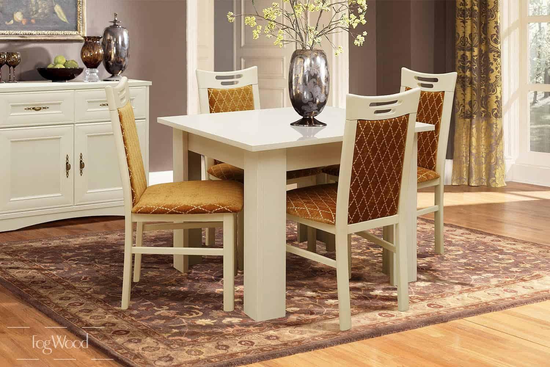 Стол и стулья из массива дерева «Модель 6» по индивидуальным размерам