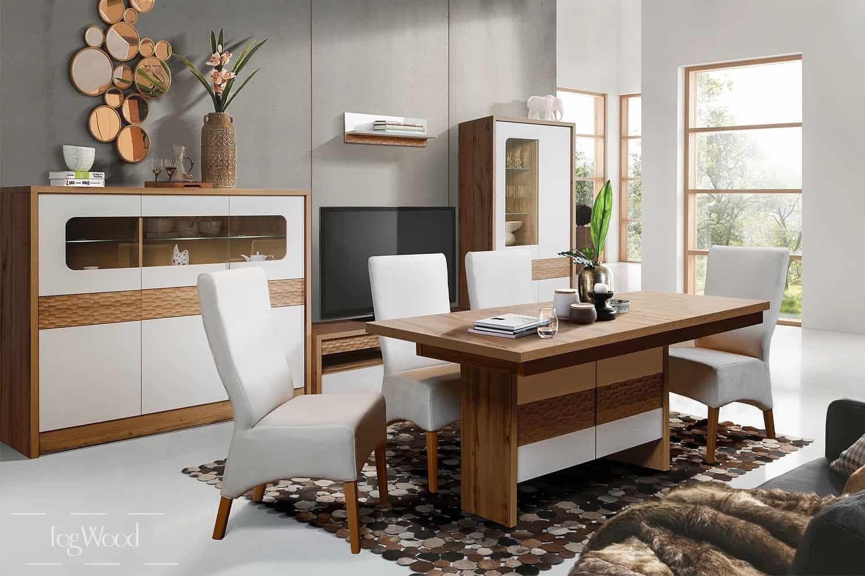 Стол и стулья из массива дерева «Модель 7» по индивидуальным размерам