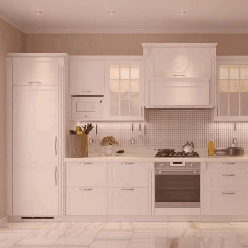 Кухни Белые - на заказ в Санкт-Петербурге