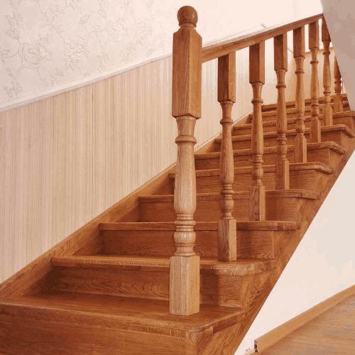 Лестницы Дубовые - на заказ в Санкт-Петербурге